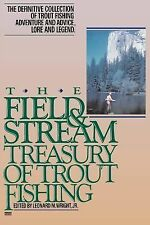 Field and Stream Treasury of Trout Fishing by Leonard M. Wright (1988,...
