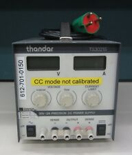 PRECISION DC POWER SUPPLY THANDER BRAND MODEL TS3021S Output 30 VOLTS, 2AMP