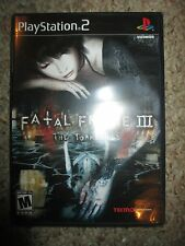 Fatal Frame III: The Tormented (Sony PlayStation 2, 2005) 3 NEW Sealed ps2