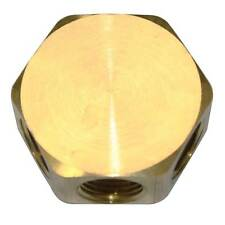 """Brass Round Manifold - In-Out 3/8"""" NPT Female 3 Way Outlet FPM66R-3"""