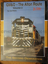 MORNING SUN BOOKS - GM&O The Alton Route in Color Volume 2 - HC 128 Pages