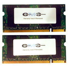 4GB (2x2GB) Memory RAM Compatible with Dell XPS M1330 Notebook DDR2 (A37)