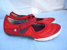 Cushe Padit Out Red Nylon Mary Jane Casual Walking Shoes Size 6