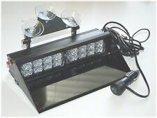 LTE2 LED Light 1 Watt Windshield Visor Strobe Dash Deck Warning Blue White