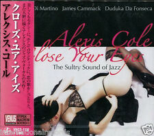 """Alexis Cole - Close Your Eyes"" Japan Venus Records Audiophile Jazz CD New"