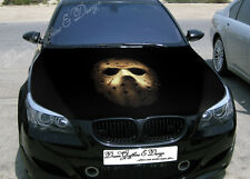 Mask Full Color Graphics Adhesive Vinyl Sticker Fit any Car Hood Bonnet #072