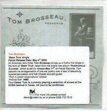 (328J) Tom Brosseau, Been True - DJ CD