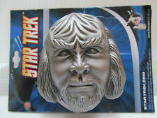 2009 STAR TREK WORF 3-D BELT BUCKLE
