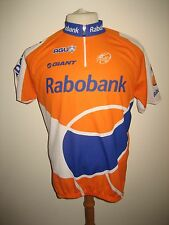 Rabobank 2010 Holland agu jersey shirt cycling wielershirt trikot size L