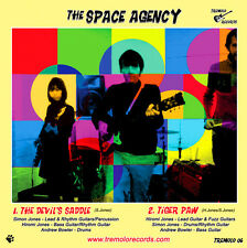 "The Space Agency - The Devil's Saddle/Tiger Paw New 7"" Inch Vinyl Single"