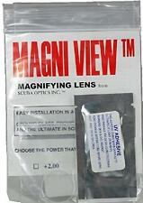 MAGNI-VIEW 3x Mask Magnifying Lens Great for  Water Sports and Scuba Divers