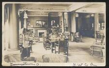 RP POSTCARD YOUNGSTOWN OHIO W Rayen Avenue Y W C A Interior Lobby View 1910's
