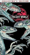 The Lost World Jurassic Park VHS, 2000, Collector's Edition Free Shipping U.S.A.