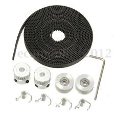 2.5M 20T GT2 Timing Belt & 2x puleggia Idler Tensioner Per 3D printer RepRap