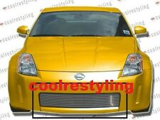 For 2003 2004 2005 Nissan 350Z Billet Grille Grill Insert 1pc bolton overlay