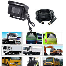 Rear View Night Vision Backup Camera F Bus Truck Trailer Heavy Duty + 5M Cable