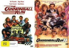 THE CANNONBALL RUN 1 & 2 - BURT REYNOLDS -  NEW DVD'S