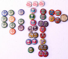 Vintage Celluloid Pinbacks A.F. of L. Teamsters Union 1938-1945 +MORE