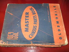 1936-48 49 50 51 1952 Oldsmobile ORIG! Chassis Parts Catalog_Super 88_98_Dynamic
