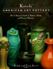Kovels' American Art Pottery: The Collector's Guide to Makers, Marks, -ExLibrary