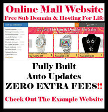 Website - eCommerce - Online Store - No Extra Fees! Home Internet Based Business
