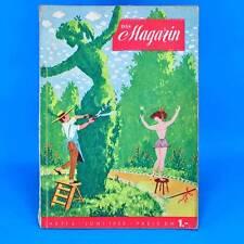 Das Magazin 6/1955 | Akt Erotik Werbung | DDR Geburtstag Zeitschrift Zeitung