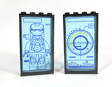LEGO Custom Tony Stark Ironman Computer Display screens printed 76007 jarvis