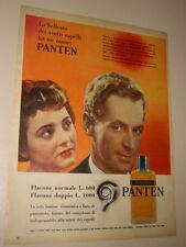 PANTEN LOZIONE SHAMPO CAPELLI=ANNI '50=PUBBLICITA=ADVERTISING=556