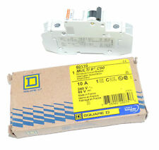 NIB SQUARE D MERLIN GERIN 60110 MULTI 9 C60 CIRCUIT BREAKER