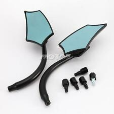 BLACK CUSTOM  Rearview MIRRORS FOR  Victory Cross Country Hammer 8-Ball