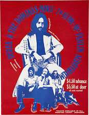 "Derek and the Dominos 1970 16"" x 12"" Photo Repro Concert Poster"