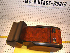 Mercedes W140 CL500/600/S Coupe Rear BLACK Burl wood 1 Console & Ash Burl 1 Tray