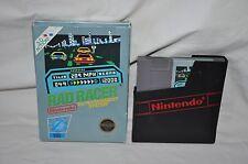 VTG ORIGINAL NINTENDO NES ES RAD RACER GAME 5 Screw CART in Box TESTED WORKS