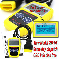 VOLVO CAR FAULT CODE READER ENGINE SCANNER DIAGNOSTIC RESET TOOL OBDII EOBD