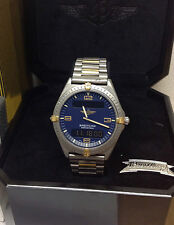 Breitling Aerospace F56061 Bi/Colour Blue Dial Box & Original Receipt -Serviced!