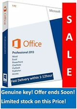Microsoft Office 2013 Professional Plus Product Key Fast & Shipping with 24 hour