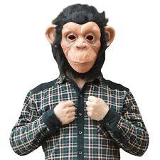 Maschera Carnevale Scimmia Scimpanzè Gorilla Animali Uomo Donna