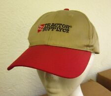 TRACTOR SUPPLY COMPANY baseball hat TSC farming logo cap North Dakota retail