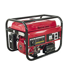 Powered 2200W 5.5HP Gas Generator Electric Start Standby Portable Power Room Use