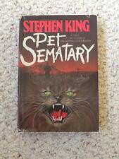 PET SEMATARY Stephen King FIRST PRINTING FIRST ISSUE HC DJ VG