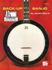 Back-Up Banjo Learn to Play Music Lesson Tutorial Accompaniment Book & Online