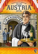 Grand Austria Hotel Board Game Mayfair Games MFG 3511 Lookout Games Austrian