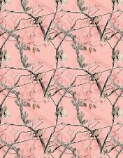 REALTREE FLANNEL FABRIC-REAL TREE PINK COTTON FLANNEL FABRIC-REALTREE PINK CAMO