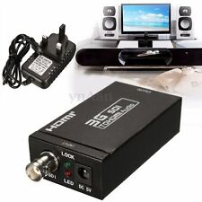 SD-SDI/HD-SDI/3G-SDI to HDMI Converter Audio Video Adapter 1080P HDTV 2.970Gbit