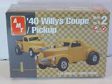 AMT '40 Willys Coupe Pickup Gasser, Dragster Model Kit