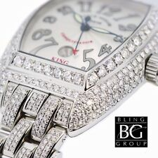 FRANCK MULLER® 29.75ct KING CONQUISTADOR™ DIAMOND WATCH!