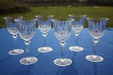St. Louis French crystal Tommy pattern 6 water glasses set