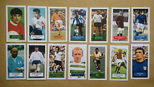 All 14 football cards from Score UK trade card set BEST PELE GREAVES ROSSI MOORE