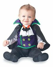 NWT BABY BOY CHILD KID INFANT COUNT CUTIE DRACULA VAMPIRE 12-18 MONTH COSTUME