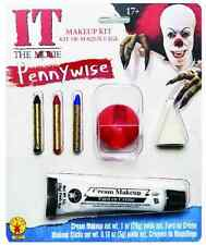 Pennywise Makeup Kit It Killer Clown Stephen King Halloween Costume Accessory